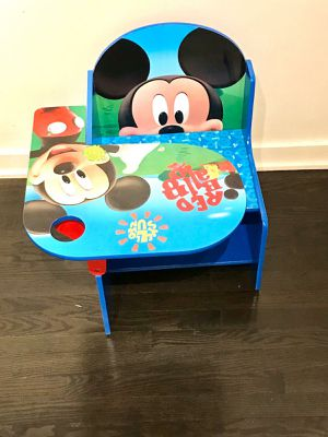Mickey Kids Desk and Toy Storage for Sale in Chicago, IL