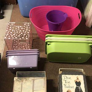 Storage bins (25 total) for Sale in Malden, MA