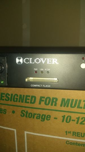 Clover CDR4070 Standalone 4 Channel DVR IP Addressable Digital Video Recorder for Sale in Las Vegas, NV