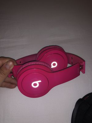 Beats by Dr. Dre Solo2 Wired On-Ear Headphones (Bright Pink) for Sale in Tampa, FL