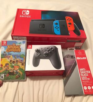 Nintendo Switch with accesories for Sale in Rockford, TN