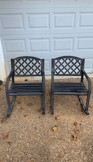 Metal rocking chairs for Sale in Nashville, TN