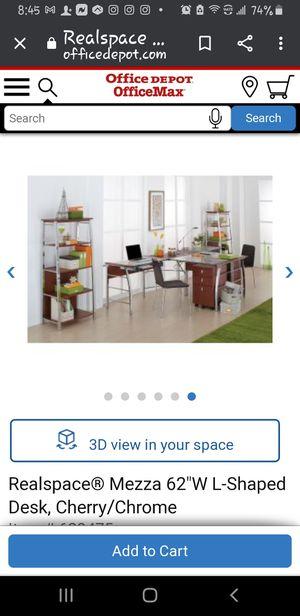 Corner desk-- Mezza Collection for Sale in Spring, TX