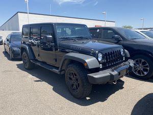 2016 Jeep Wrangler Unlimited JK Unlimited Willys Wrangler - 4 door for Sale in Phoenix, AZ