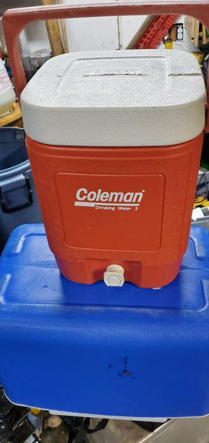 Coleman 5 Gallon Water Jug Drink Beverage Cooler for Sale in Federal Way, WA