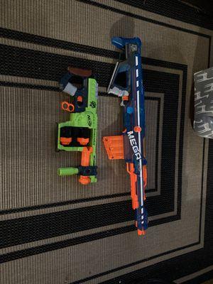 2 nerf guns for Sale in Mesquite, TX