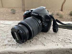 Nikon D3200- 3 lenses, Nikon camera bag for Sale in Chandler, AZ