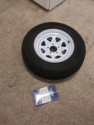 Trailer spare tire and mount brand new for Sale in Tarpon Springs, FL