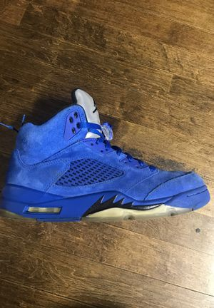 Air Jordan's 5 blue size 8.5 $ 100 $ for Sale in Chicago, IL
