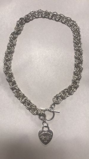 Return to Tiffany vintage necklace very heavy for Sale in Alexandria, VA