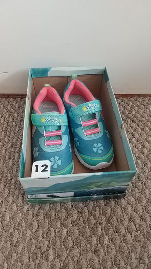 New Disney Princess Moana Sneakers Toddler Child Size 12 for Sale in Aliso Viejo, CA