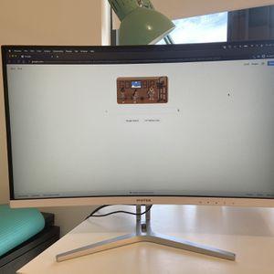 """Viotek 24"""" Curved Monitor for Sale in Miami, FL"""