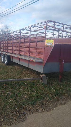 Wwcattle trailer 24 foot for Sale in Tyler, TX