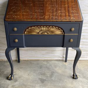 Updated Antique Hand Painted Desk for Sale in Houston, TX