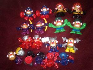 Mini Mr Potatoe Head Avengers Lot! for Sale in Lacey, WA