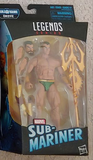 Marvel Legends Sub-Mariner for Sale in Concord, NH