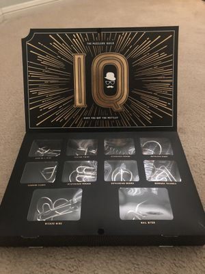 Metal Puzzle Game Set of 10 (BRAND NEW) for Sale in San Antonio, TX