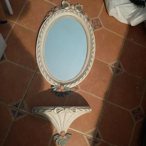Mirror And Small Size Shelf for Sale in Winchester, CA