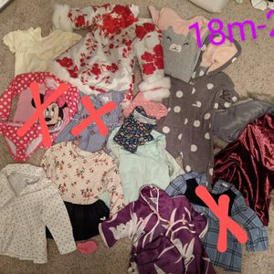 18m-2T Toddler Clothes for Sale in Wilmington, MA