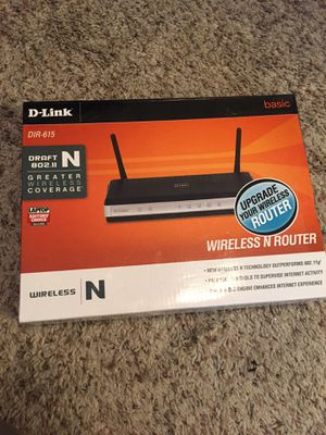 D-LINK wireless router for Sale in Houston, TX
