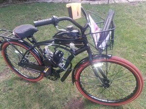 """Huffy Nel Lusso 26"""" 80cc Motorized Bicycle for Sale in Normal, IL"""