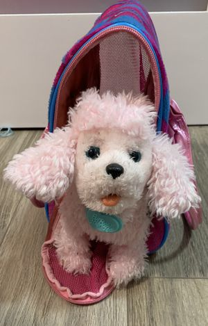 Doggy FurReal Friends and bag for Sale in Lake Oswego, OR