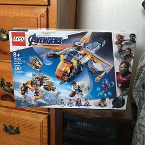 Lego Hulk Helicopter 76144 for Sale in Albuquerque, NM