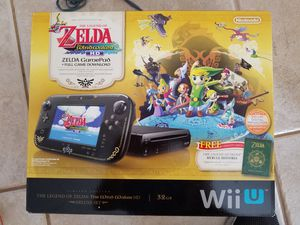 Nintendo Wii U special edition Zelda for Sale in Wellington, FL