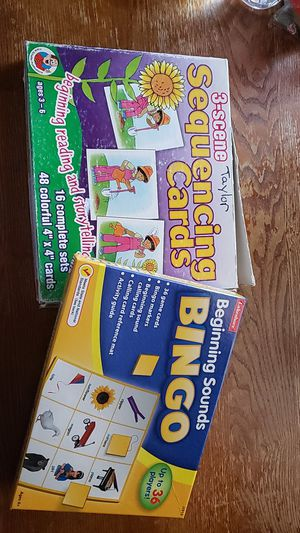 Educational games and puzzles for Sale in South Gate, CA