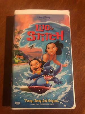 Lilo Stitch vhs for Sale in Fontana, CA