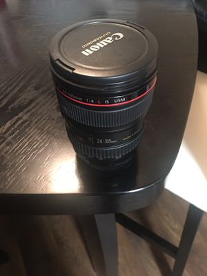 Canon lenses for sale 24-105, 851.8 and sigma art 35 1.4 for Sale in Pasadena, TX