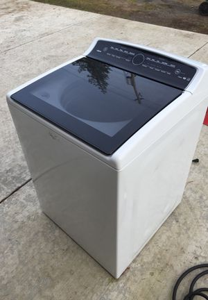 whirlpool wtw7300dw0 high efficiency clothing washer for Sale in Seattle, WA