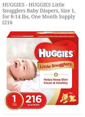 Infant Diapers- Huggies for Sale in Swansea, IL