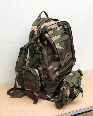 Brand New $25 each 55L Outdoor Sport Bag Camping Hiking School Backpack (Camouflage) for Sale in Pico Rivera, CA