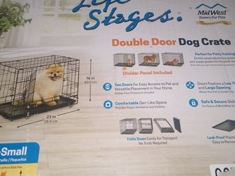 X- small Dog Crate $25 for Sale in Fresno,  CA