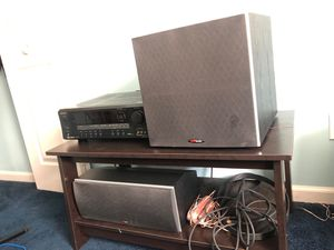 Polk audio And Reciever for Sale in Grove City, OH