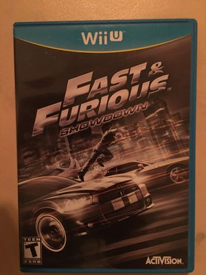 Nintendo Wii U fast and furious showdown for Sale in Visalia, CA
