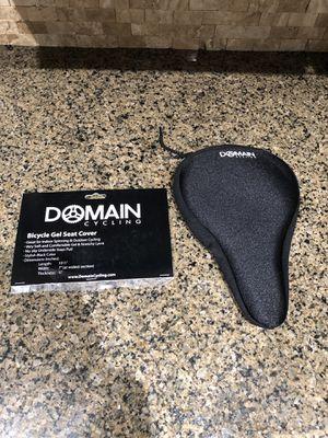 "Domain Cycling Premium Bike Gel Seat Cushion Cover 10.5""x7"" for Sale in Rancho Cucamonga, CA"