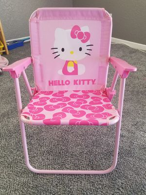 Brand new Hello Kitty folding chairs. for Sale in Hesperia, CA