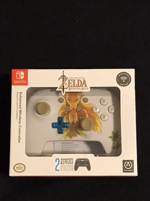 Nintendo Switch Princess Zelda Wireless Pro Controller for Sale in Phoenix, AZ