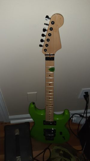 Unknown Brand guitar, floyd rose super strat for Sale in Lexington, KY