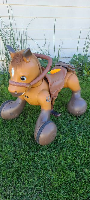 12 volts electric horse Rideamals Scout Pony for Sale in French Camp, CA