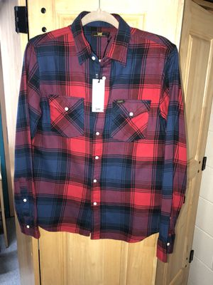 Never Worn Lee Jeans Plaid Shirt for Sale in Mount Rainier, MD