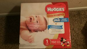 Huggies size 1 diapers for Sale in Austell, GA