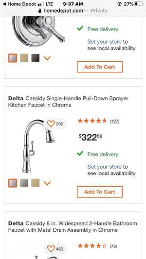 New kitchen faucet for Sale in Salt Lake City, UT