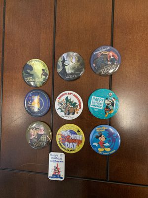 Disney - Button/Pins - Bag #15 for Sale in Davenport, FL