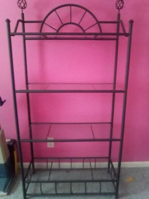 Black iron shelf for Sale in Lexington, NC