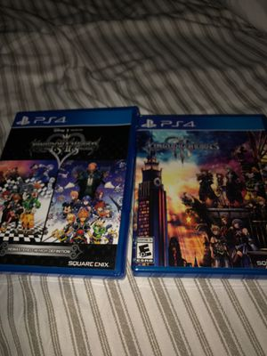Kingdom Hearts 1-3 All Games PS4 for Sale in Richardson, TX