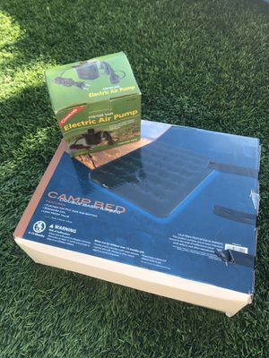 Air mattress and pump for Sale in San Diego, CA