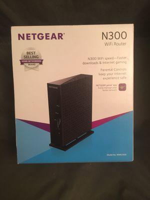 NETGEAR N300 WiFi Router for Sale in Carol City, FL